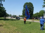 Waving a flag for the mighty Rough Riders!